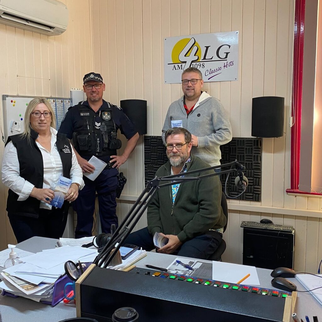 Interview with 4LG Radio Qld Road Safety Week